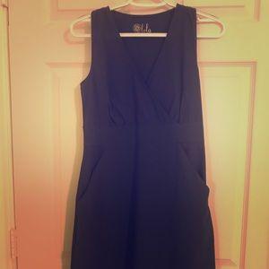 Navy Blue Lola by AFG Dress